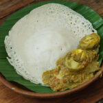 South Indian Breakfast Recipe Appam Egg Curry